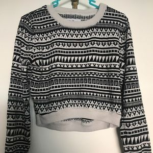 BCBGeneration cropped sweater